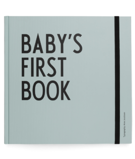 Design Letters babys first book turkis