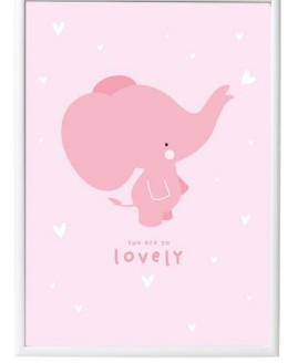 A Little lovely company plakat elefant
