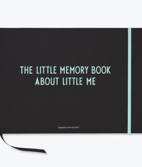 Design Letters the little memory book turkis