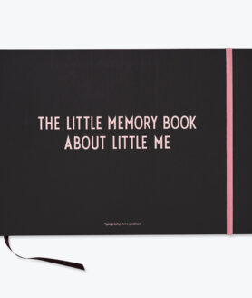 Design Letters the little memory book lyserød