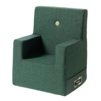 By KlipKlap kids chair XL deep green w light green