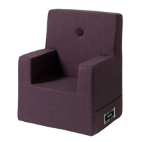 By KlipKlap kids chair XL plum w plum