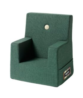 By KlipKlap kids chair deep green w light green