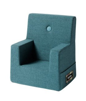By KlipKlap kids chair dusty blue w blue
