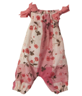 Maileg mini jumpsuit pink