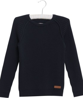 Wheat pullover navy