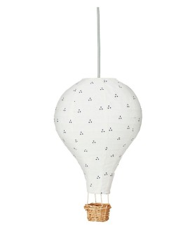 CamCam luftballon lampe navy dot