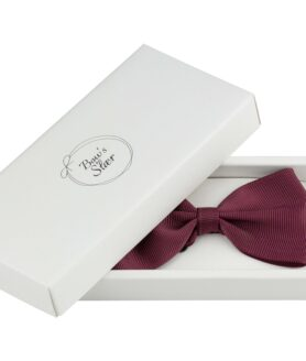 Bow's by Stær butterfly grosgrain bordeaux