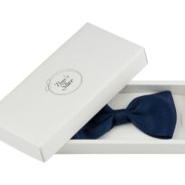 Bow's by Stær butterfly grosgrain navy