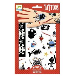 DJ09584 Djeco Tattoos pirater