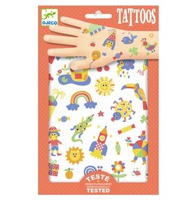DJ09589 Djeco Tattoos cute