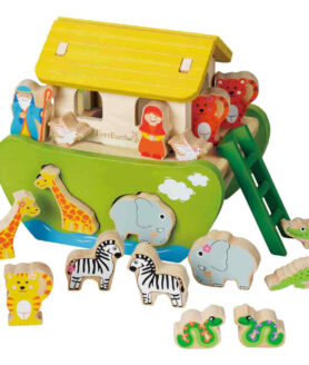 EE32686 EverEarth Shape sorting Noah's ark