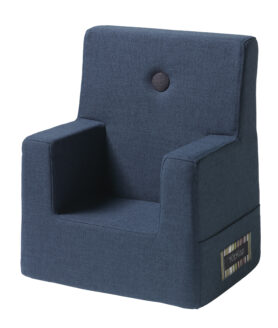 By KlipKlap kids chair dark blue w black
