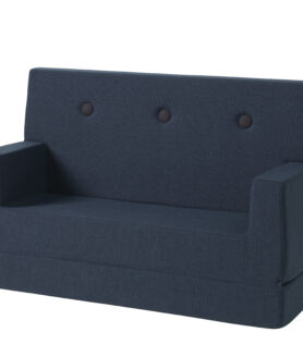 By KlipKlap sofa dark blue w black