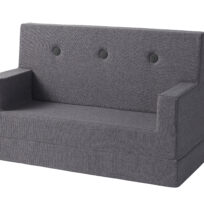 By KlipKlap sofa blue grey w grey