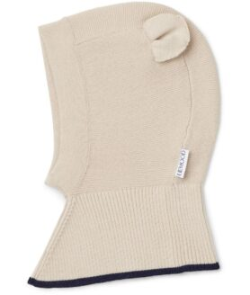 Liewood Sirius knit hat mr bear beige beauty 9-12 mdr