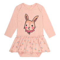 Soft Gallery body m nederdel rose bunny