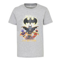 Lego t-shirt grå m batman
