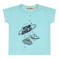 Soft Gallery T-shirt baby Ashton blue tint galaxy