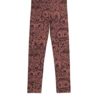 Soft Gallery leggings Paula owl burlwood