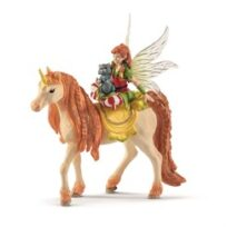 Schleich Fairy Marween with glitter unicorn