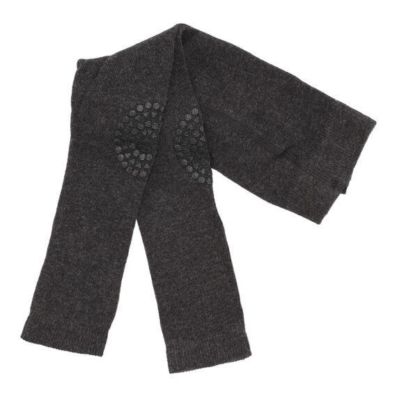 GoBabyGo kravle leggings i dark grey melange