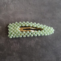 Bow's by Stær Elisabeth mint pearl clip lille