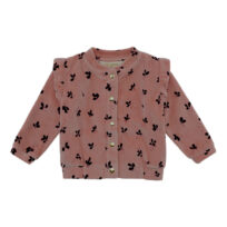 Soft Gallery cameo brown cardigan Evita petals-