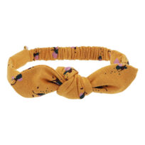 Soft Gallery flowerbee hairband bow inca gold