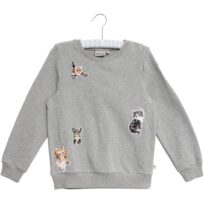 Wheat Eline sweatshirt melange grey