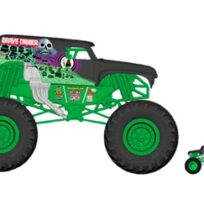 Monster Jam 1:10 monster scale