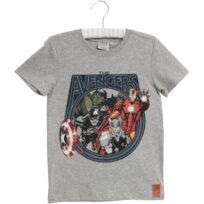 2019a-815-0224 marvel the avengers t-shirt melange grå