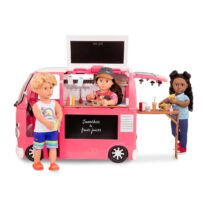 Our Generation food truck pink