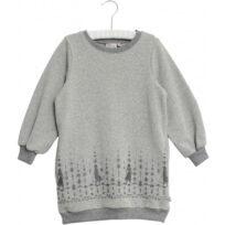 disney frost sweat kjole melange grey