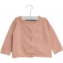 Wheat misty rose Knit Cardigan Maja
