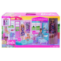 Barbie transportable dukkehus