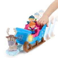 Fisher-Price Little People Frost Kristoffers slæde