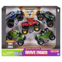 Monster Jam Grave Digger Evolution 5pk