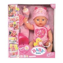 824368 - Baby Born Soft Touch Girl Blue Eyes----