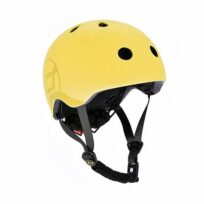 Scoot & Ride cykelhjelm lemon S-M