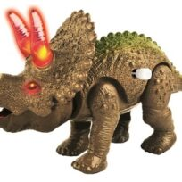 Pre-Historic Times walking triceratops